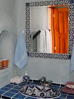 Mexican style bathroom