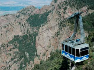 Take the Tram to the top of Sandia Mt.