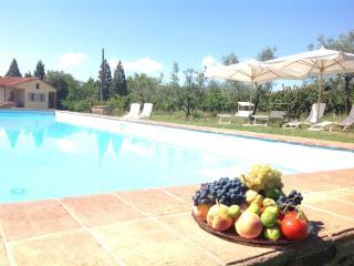 Toscana: Villa con piscina privata per 11 persone, Loro Ciuffenna
