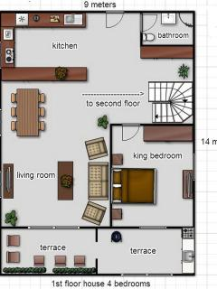 layout 1st floor