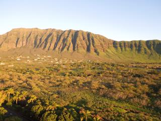 Beautiful view of mountains looking to the left from my lanai