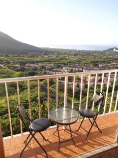 bistro set on the lanai to enjoy the wonderful view