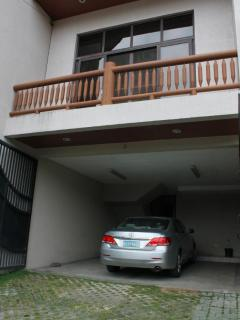 The garage of the townhouse is in-door, enclosed and secured.