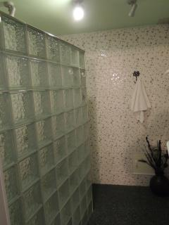 Butterfly room shower