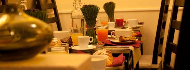 The little breakfast room