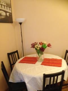 The Dining Table in Living Room