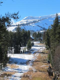 View of Ski Area from Deck