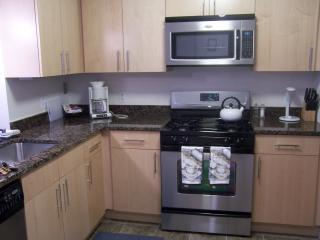Stainless Steele Appliances with Granit Countertops