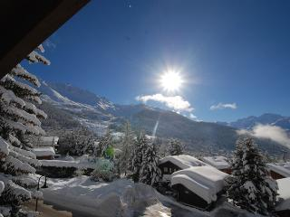 in Verbier beautiful attic apartment Panorama view