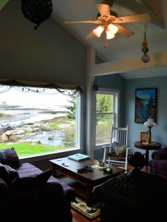 Cottage for rent in Prospect Harbor ME, - Maine apartments for rent - backpage.com - BROOKHOUSE, a cozy cottage nestled between Forbes Pond Stream & Prospect Harbor Bay - a stones throw to the ocean and fresh water stream in Prospect Harbor