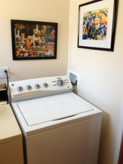 PRIVATE LAUNDRY AREA