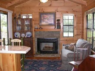 Luxury log cabin near beautiful Lake James, NC, Nebo