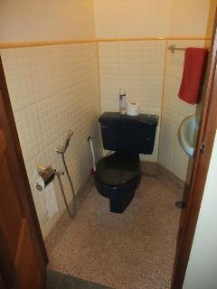 Bungalow, toilet