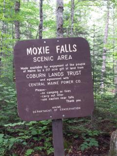 MOXIE FALLS we did after white water rafting up at crab apple white water they are wonderful people!
