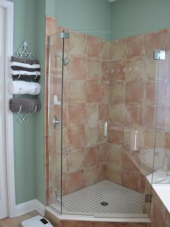 Shower in master en-suite
