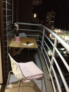 Varanda do To Apartment Meireles/Fortaleza