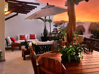Three Bedrooms Penthouse - Ocean View terrace, Playa del Carmen