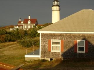 View of Highland Light From the Porch
