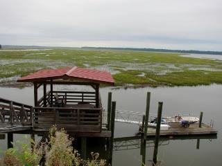 House on deep water with large dock.  4 bedrooms!