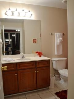 En suite Master Bath-Tub & Shower!