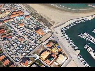 Playa de Oliva. Entre Kiko Camping y Kiko Port.