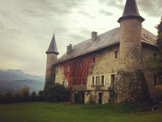 Chateau Saint Philippe - From a Priory to a Chateau - Sitting in view of Mont Blanc
