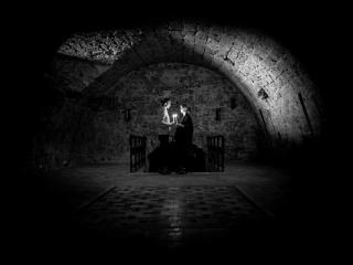 Priceless Romantic Moment - In the Caves Below