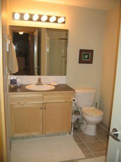 Masterbath with shower