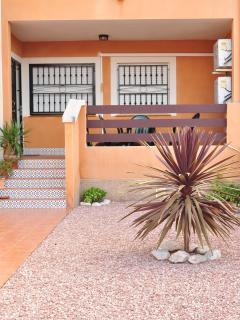 Front garden with veranda