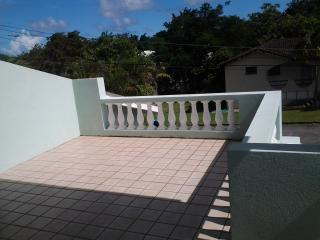 Upstairs Balcony