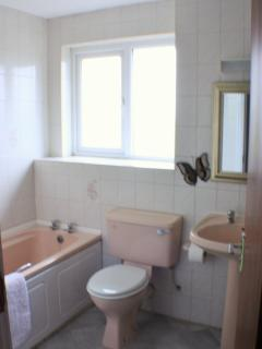 Bathroom (also ensuite shower room and cloakroom