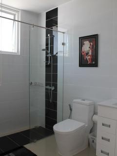 Each room has an en-suite bathroom.