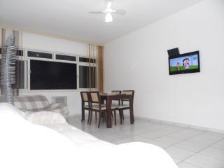 OTimo Apartamento A Uma Quadra Da Praia-2 quartos
