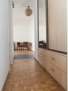 Hall with spacious wardrobe