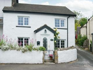ROSE COTTAGE, woodburning stove, lockable bike storage, patio, in Great Urswick, Ref 912713