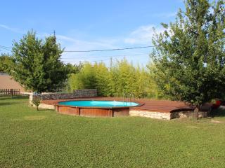 piscine octogonale de 4,5m de diamètre