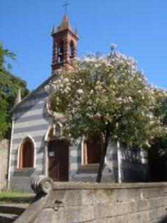 The beautiful Nostra Signora della neve church in Framura