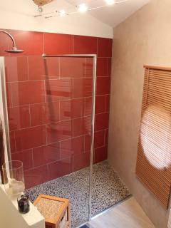 salle de bain privative avec la chambre 1