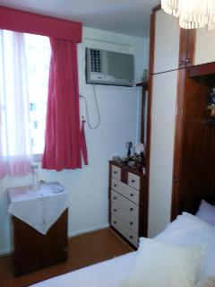 MAIN BEDROOM (WITH AIR CONDITIONER)