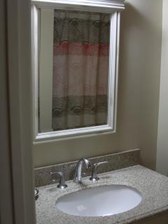 Bathroom area - vanity