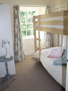 Bunk room, adjacent to Master bedroom, ideal for children