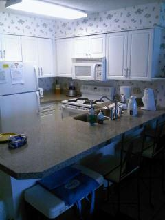 Kitchen that has everything! Granite tops