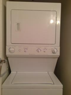 Washer and Dryer in Master bathroom