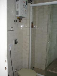 Bathroom with Heat and a Strong Shower