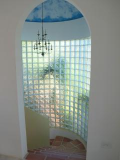 Glass Stairway