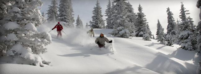 Some of the best skiing in the world out your door