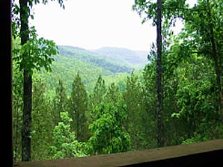Enchanted Forest: Deluxe Mountain Top Cabin 2, Eureka Springs