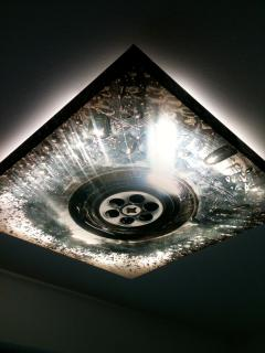 designer bathroom light