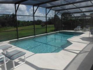 Private pool area with no rear neighbors