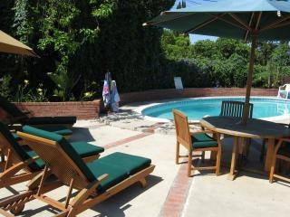 Anaheim vacation rental walk to Disneyland with pool, spa and playroom